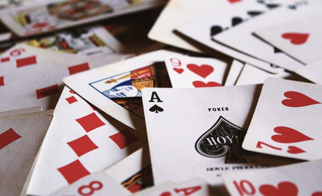 Playing cards with dementia patients