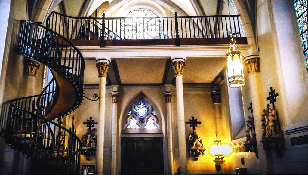Loretto Chapel in Sante Fe