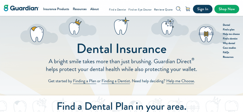 Guardian Dental Insurance Website